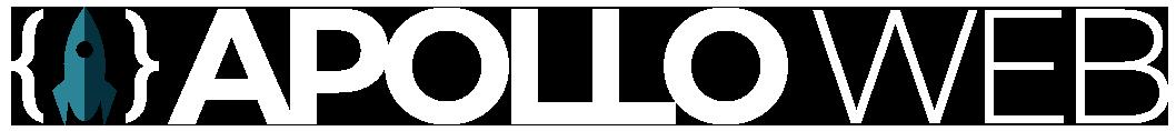 Apollo Web logo hvid