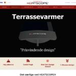 wordpress hjemmeside heatscope
